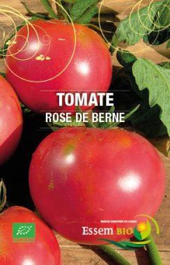 Graines Tomate rose de Berne bio - Essembio