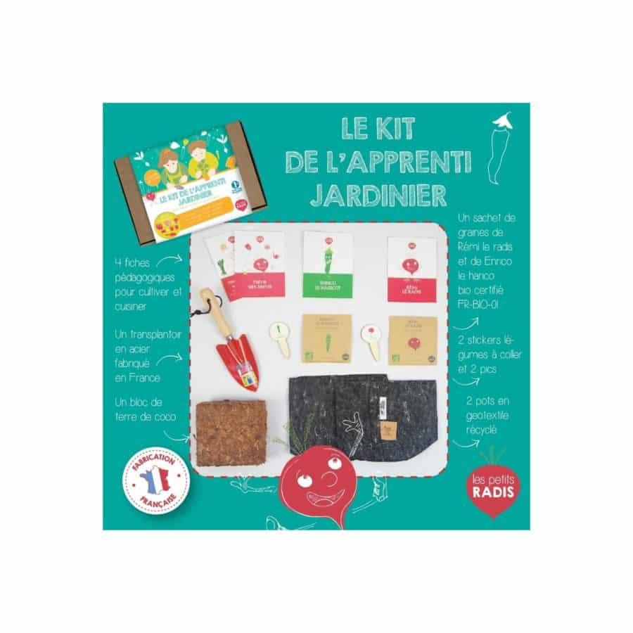 Kit de l'apprenti jardinier - Les Petits Radis 1