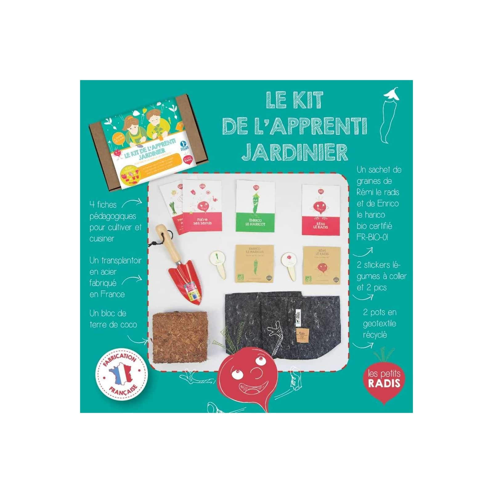 Kit de l'apprenti jardinier – Les Petits Radis 1