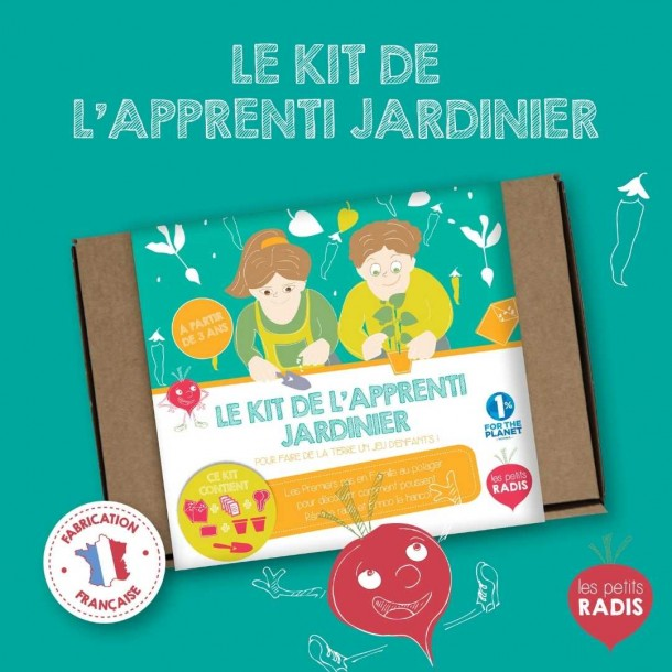 Kit de l'apprenti jardinier – Les Petits Radis 2
