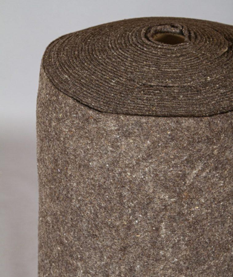 Feutre de paillage pure laine Ardelaine - Rouleau de 15m