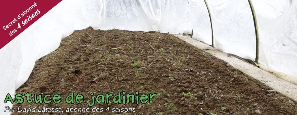 Solutions contre le gel en hiver au jardin