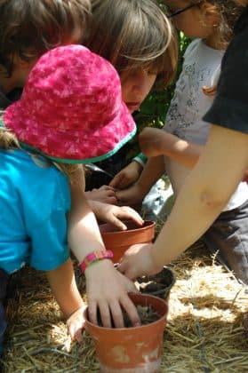 Atelier jardinage avec les enfants