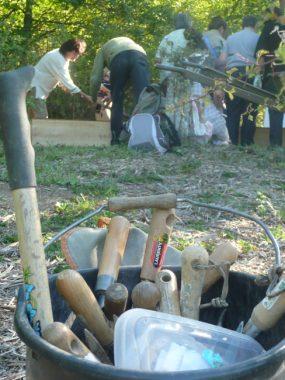 Fabrication d'outils de jardin