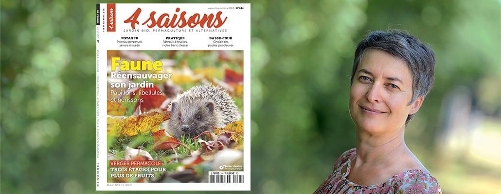 Réensauvageons nos jardins ! | 4 saisons n°244 1