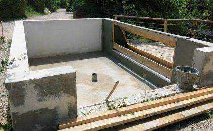 Construction de la mare'quarium