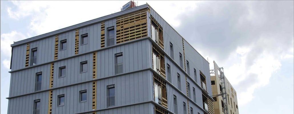 Grenoble : un immeuble en bois sort de terre 1