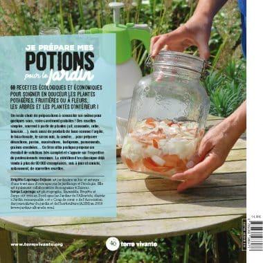 Je prépare mes potions pour le jardin- Nouvelle édition 1