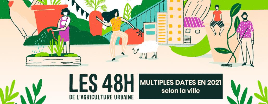 """Les """"48 h de l'agriculture urbaine"""" partout en France pour découvrir le jardinage citadin !"""