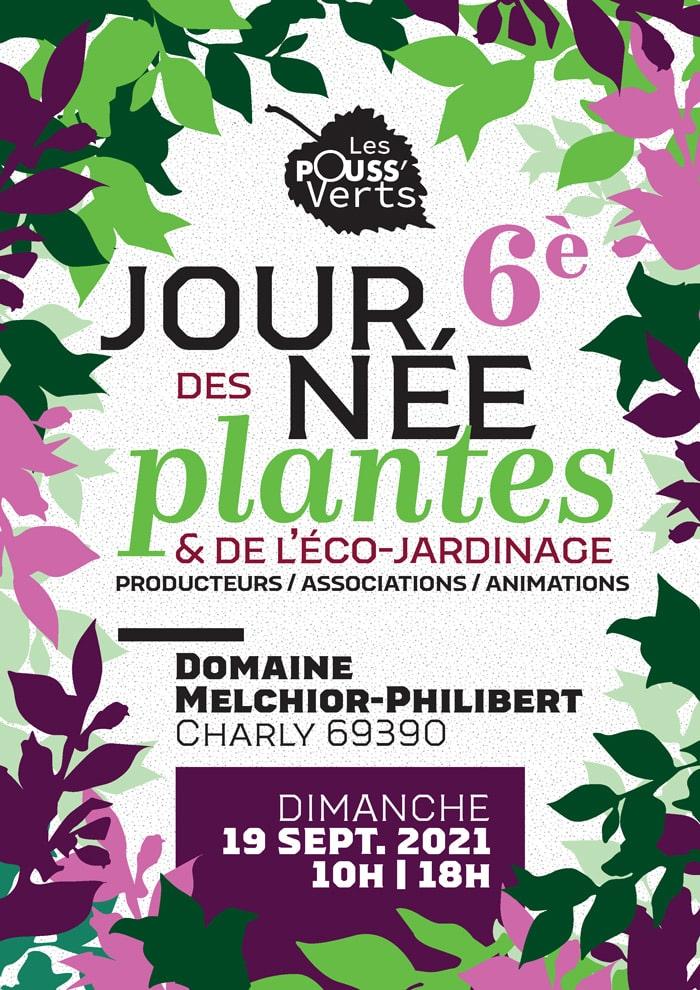 6<emp>ème</emp> journée des plantes et de l'éco-jardinage, le 19 septembre 2021   Charly (69)