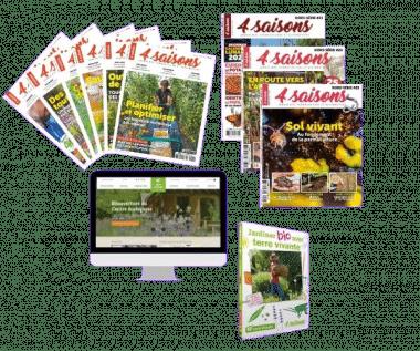 """Offre Esprit + DVD """"Jardiner bio avec Terre vivante"""" - Saison 2"""