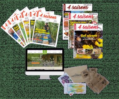 Offre Esprit + Lot 5 Sachets de graines Ste Marthe