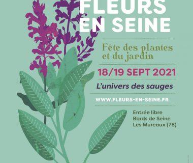 Fleurs en Seine, Fête des plantes et du jardin, les 18 et 19 septembre 2021 | Les Mureaux (78)