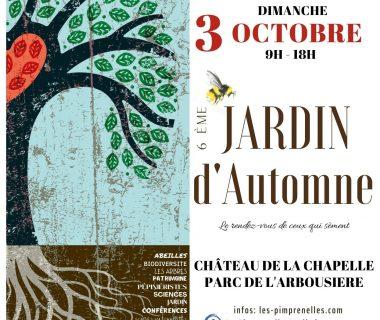 6e Jardin d'automne, le 3 octobre 2021 | Châteauneuf-de-Gadagne (84)