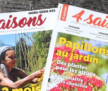 Un magazine envoyé sans emballage