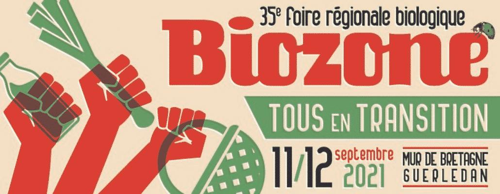 Venez vivre la bio et l'écologie les 11 et 12 septembre à la foire Biozone en Bretagne
