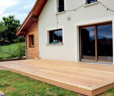 Le bois s'installe en terrasse | 4 saisons n°246 2