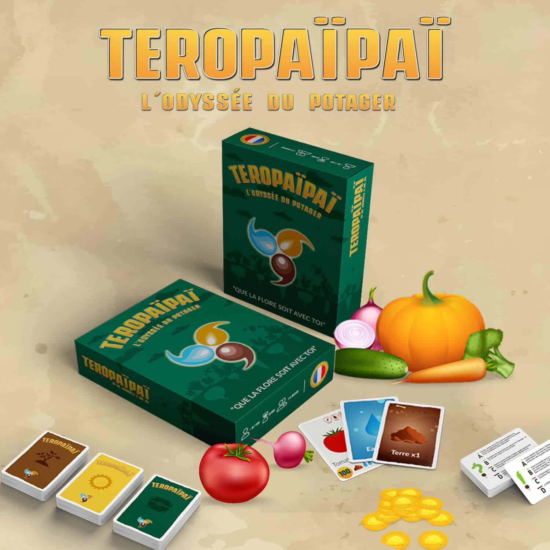 Teropaïpaï : L'odyssée du potager – Dr. Jonquille et Mr. Ail