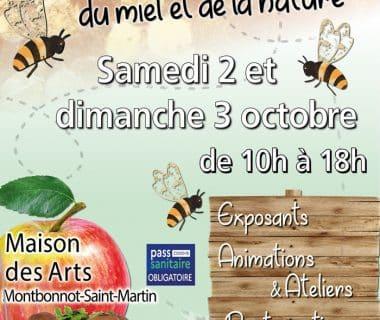 11e édition de la Fête des abeilles, du miel et de la nature, les 2 et 3 octobre 2021 | Montbonnot-Saint-Martin (38)