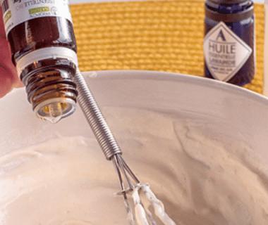Crème hydratante onctueuse à la lécithine