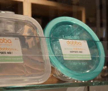 Les consignes Dabba pour en découdre avec les emballages jetables dans la restauration
