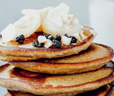 Pancakes minute à la banane