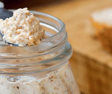 Pâte à tartiner aux noix et aux graines