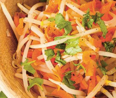Salade de germes de soja