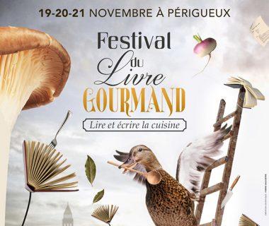 Festival du Livre Gourmand, du 19 au 21 novembre 2021   Périgueux (24)