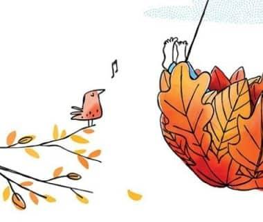 Des plats de feuilles et d'aiguilles